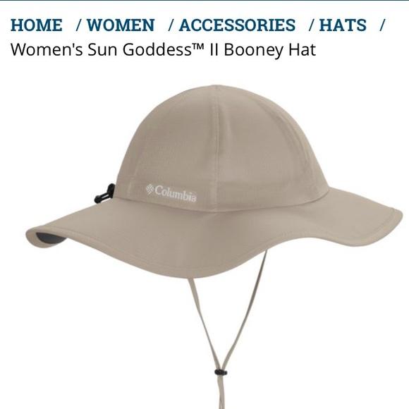 3363249800363 Columbia Accessories - Columbia Sun Goddess II Booney UPF Hat Brand New